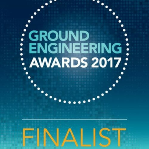 Ground Engineering Awards finalist logo