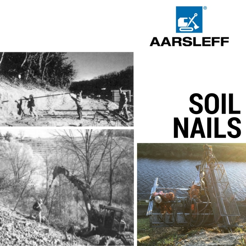 Soil nails the history aarsleff for Soil and its origin