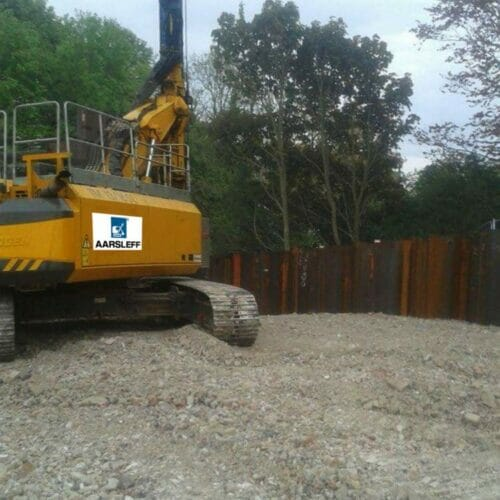 Sheet Piling Sussex University