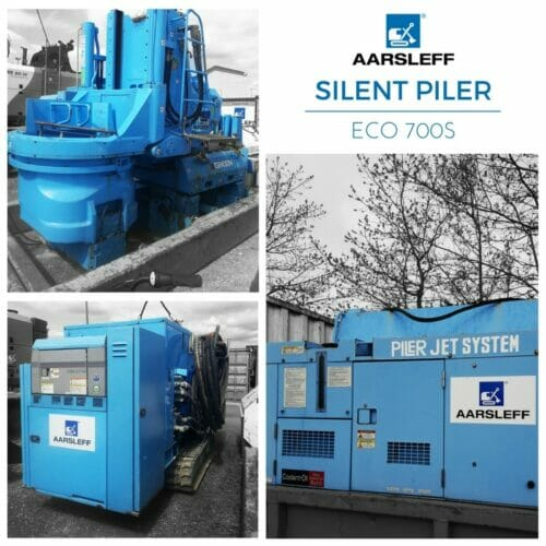 Silent Press Geiken Aarsleff Sheet Piling