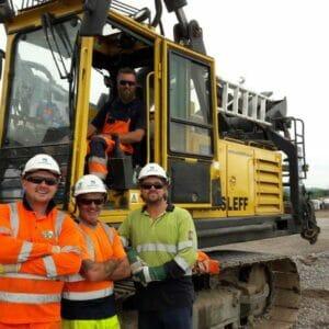 Aarsleff, Avonmouth, Bristol, Driven Precast Piling