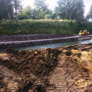 Anchored Sheet Piled Wall 3