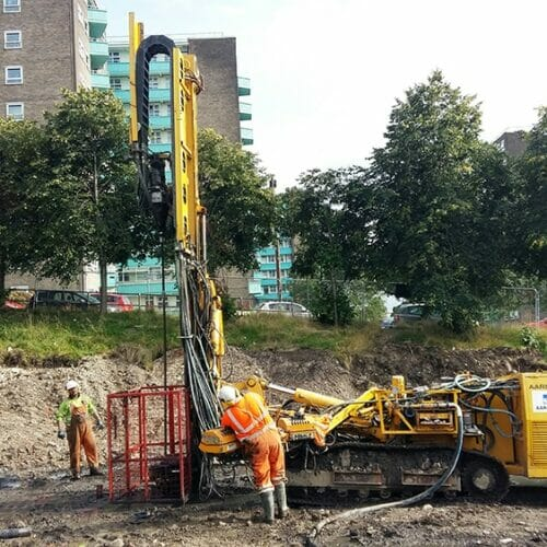 Shakespeare School - Drilling & Grouting, Soil Nails and Steel Tube Piling