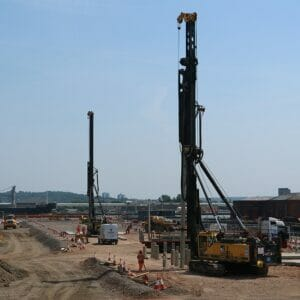 Avonmouth Docks, Aarsleff Ground Engineering, Costain Ltd, Hinckley Point C Power Station, Batching Plant, Driven Precast Piling