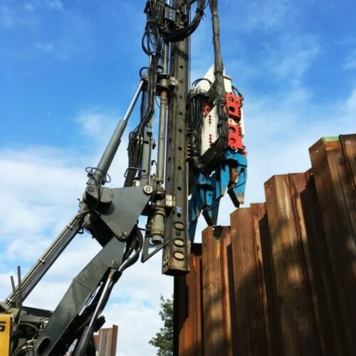 Sheet Piling contractor awarded commercial sheet piling contract in Edinburgh