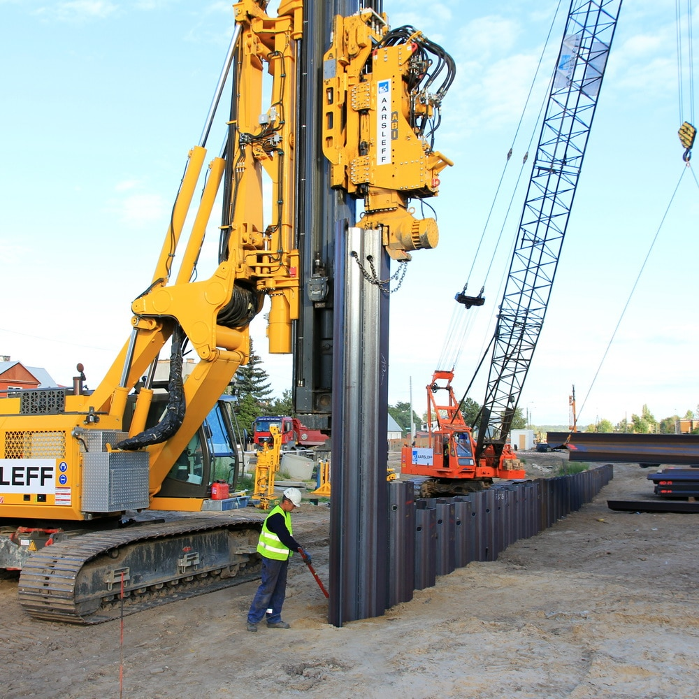 Sheet Piling contractors in the UK? Look no further