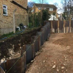 Henley on Thames Sheet Piling Aarsleff Ground Engineering