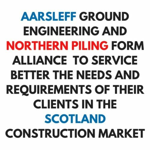 Alliance Northern Piling and Aarsleff Ground Engineering