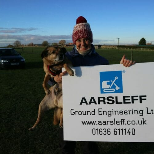 Aarsleff and Halfway Home Dog Rescue
