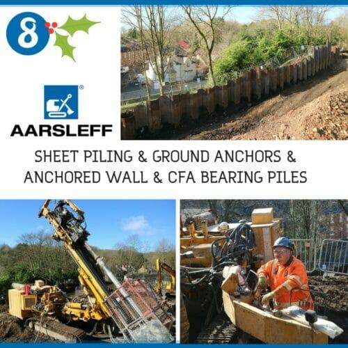 North Road Durham, CFA, Sheet Piling, Ground Anchors, Anchored Wall, Retaining Wall