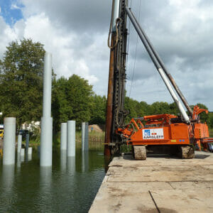 Driven Steel Tube Piles