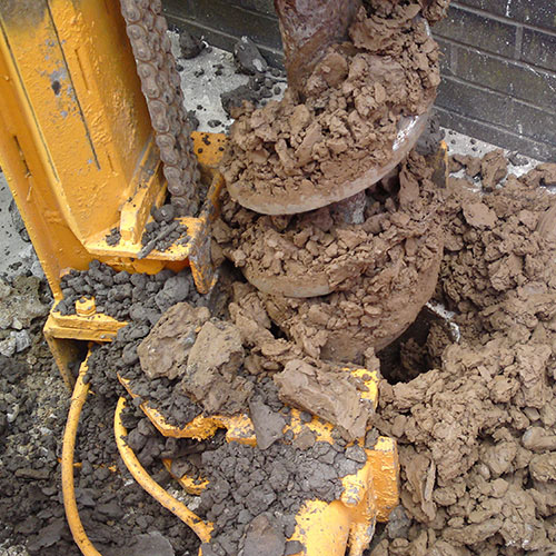 Mini Piles - Augered Piling