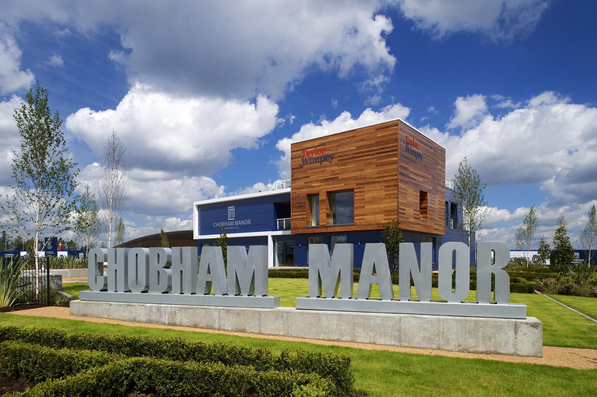 Piling Chobham Manor Olympics