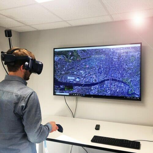 Virtual Reality Graphic 2