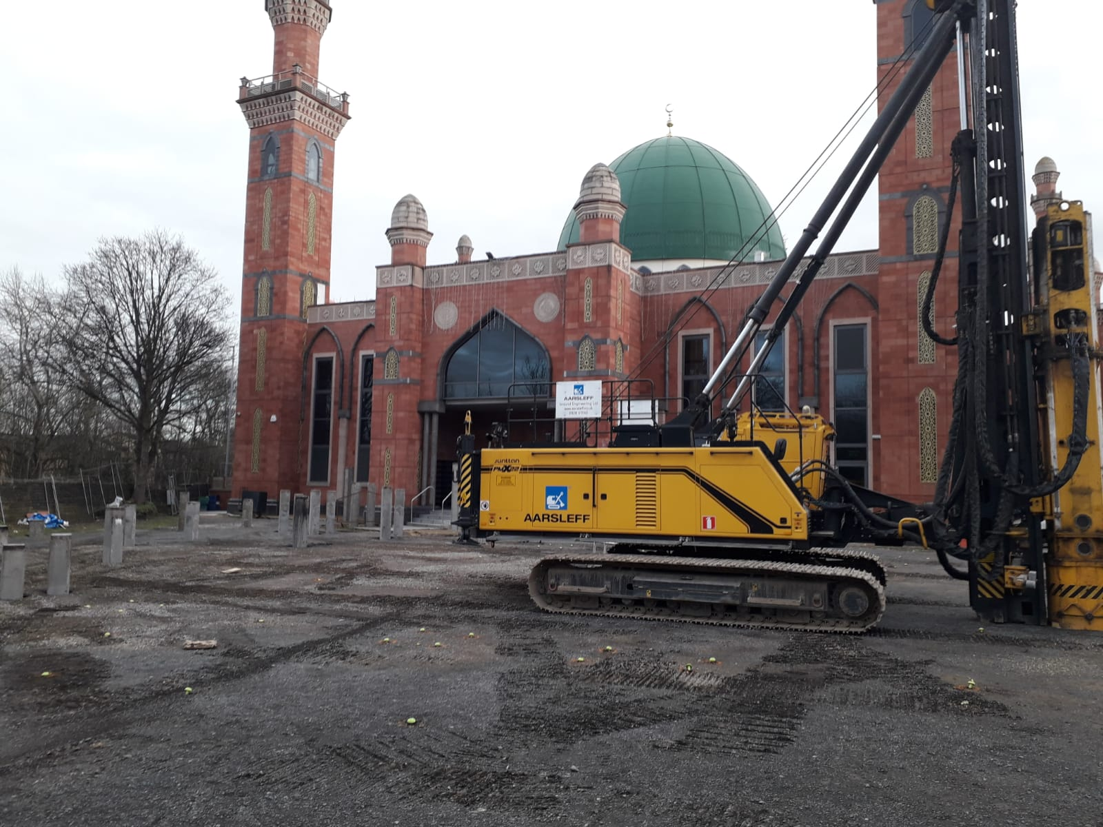 Piling for a Mosque in Bradford
