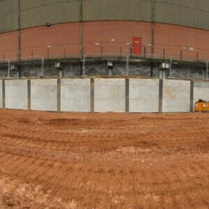 Finished King Post Wall at Mansfield