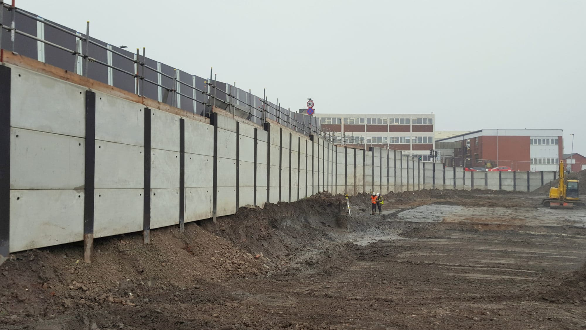Rochdale Riverside - Multidiscipline Ground Engineering solution