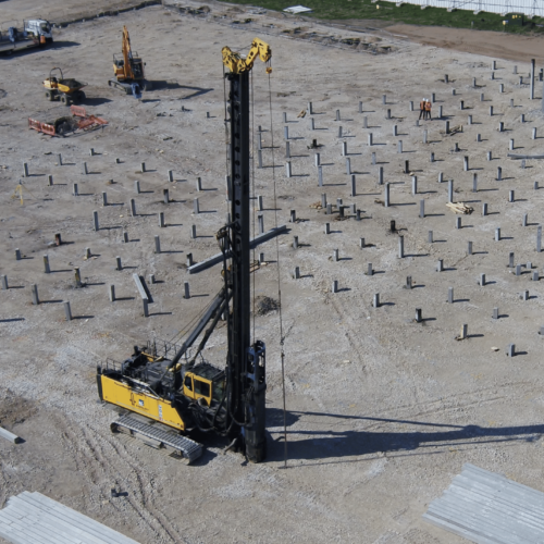Driven Precast Piling - Aarsleff Ground Engineering
