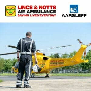 Aarsleff Ground Engineering support local air ambulance