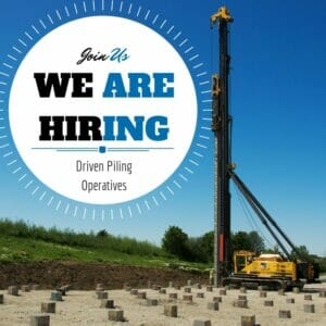 Driven Piling Operatives vacancy