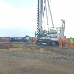 CFA Piling Works in Leighton Buzzard
