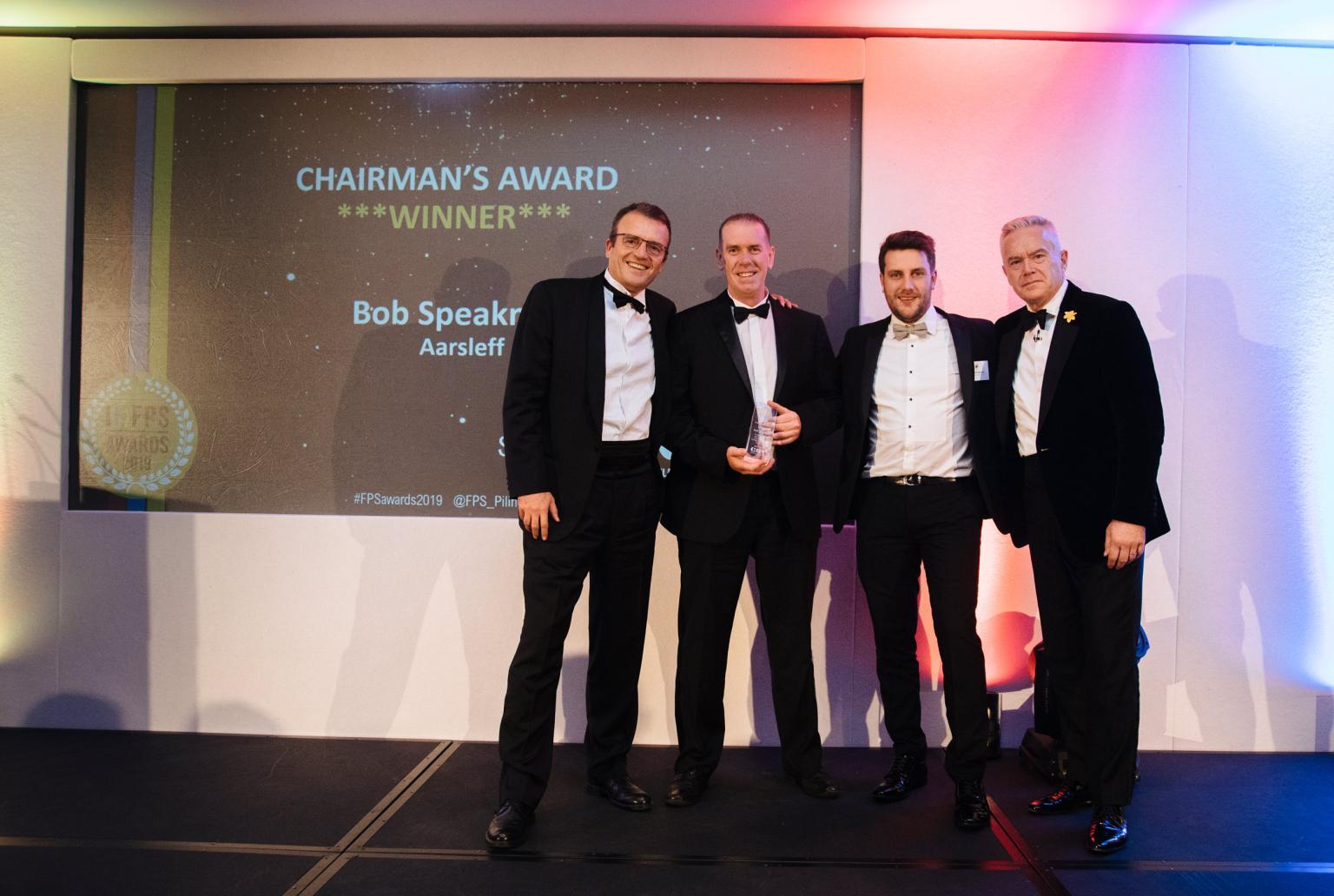 Robert Speakman - winner of the FPS Chair's Award