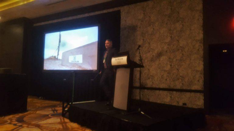 Kevin presenting at DICEP