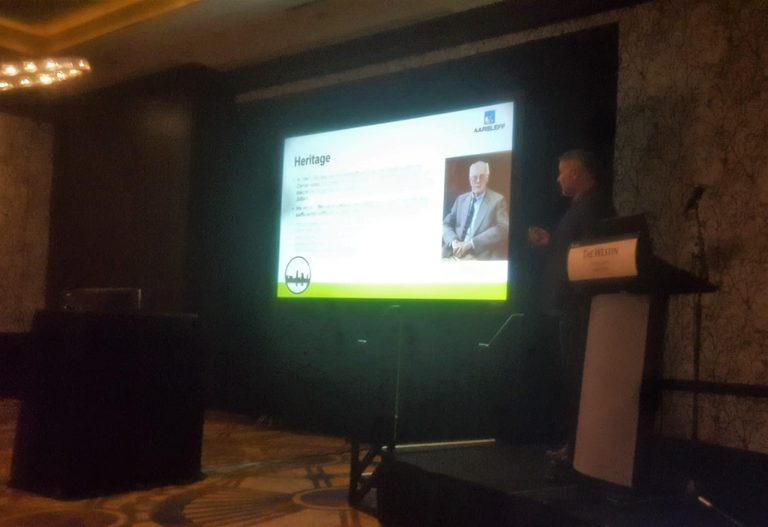 Kevin presenting at DICEP Conference