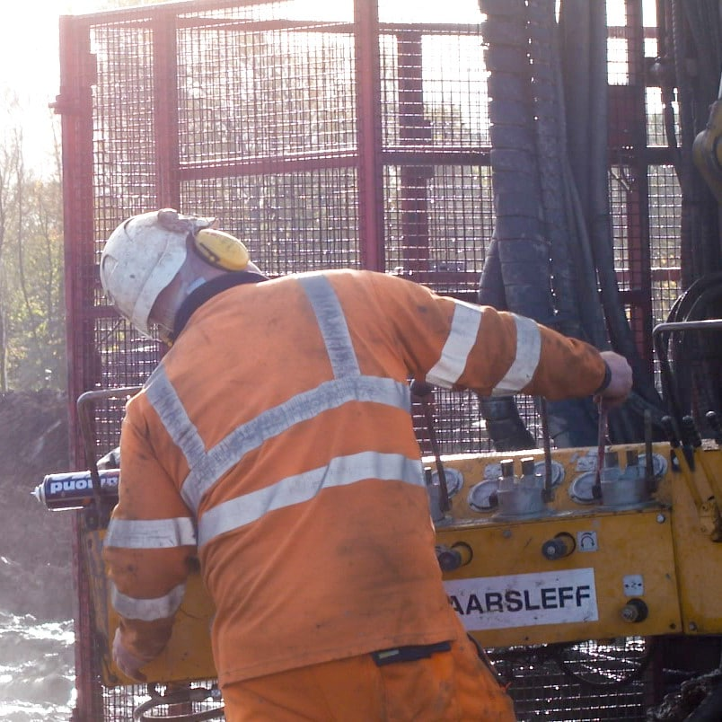 Drilling and grouting - Gibside SEN