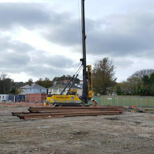 Steel Tubular Piling - Guernsey