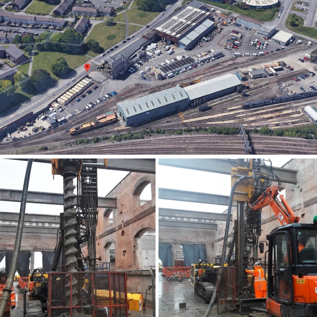 Restricted Access Piles - Holbeck MDU case study