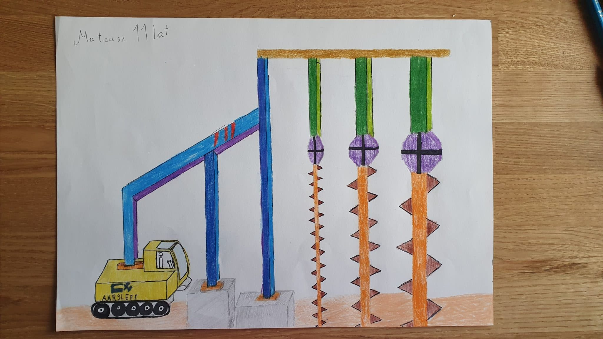 Construction Rig Drawing