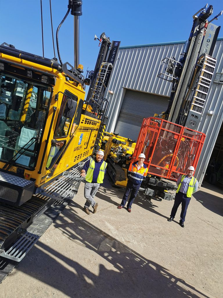 Delivery of New Junttan PMx22 Piling rig