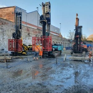 Drilling and grouting
