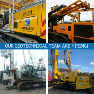 Geotechnical team