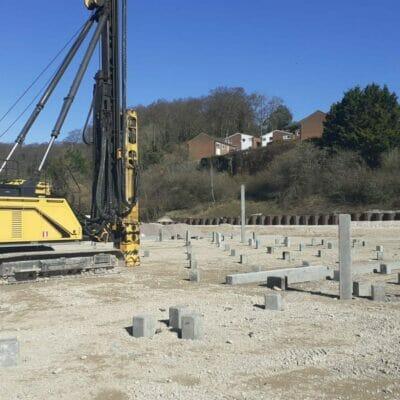 Chesham, Aerial Park – Driven precast piling works