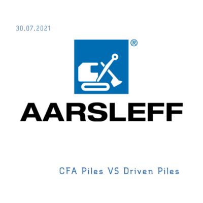 CFA Piles VS Driven Piles